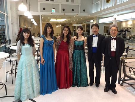 コーチャンフォー クリスマスコンサート 2014