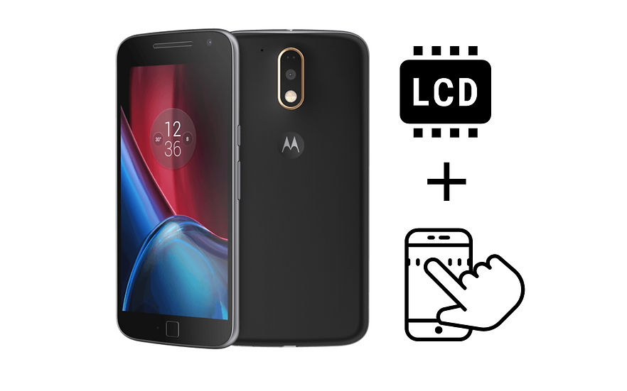 Moto G4 Glass Digitizer & LCD