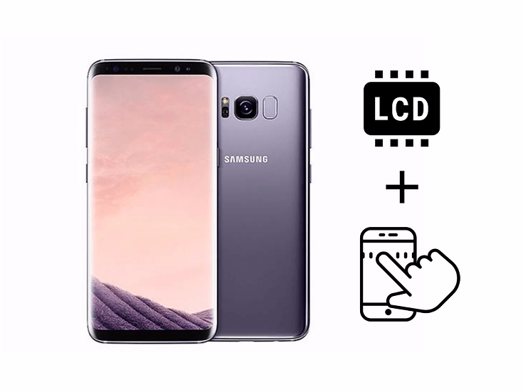 Samsung Galaxy S8 Glass Touchscreen & LCD Repair