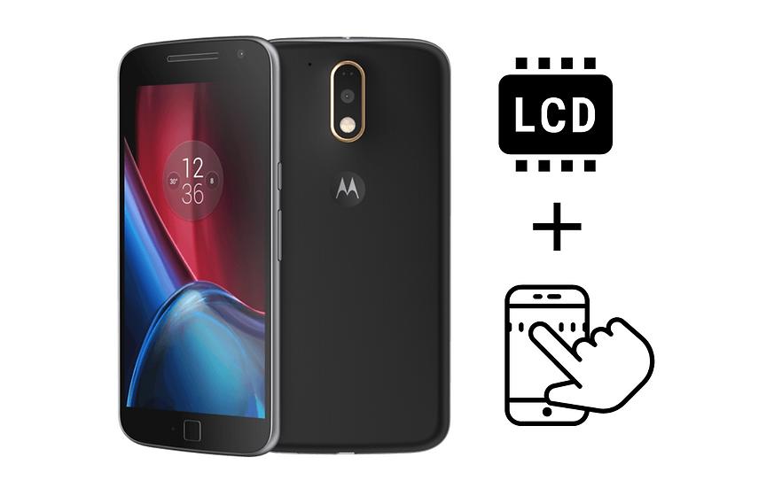 Moto G4 Plus Glass Digitizer & LCD