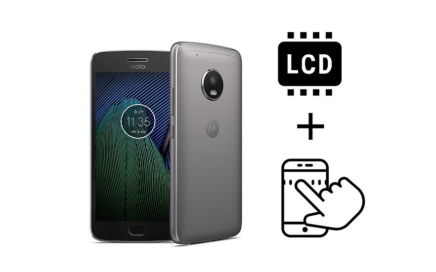 Moto G5 Glass Digitizer & LCD