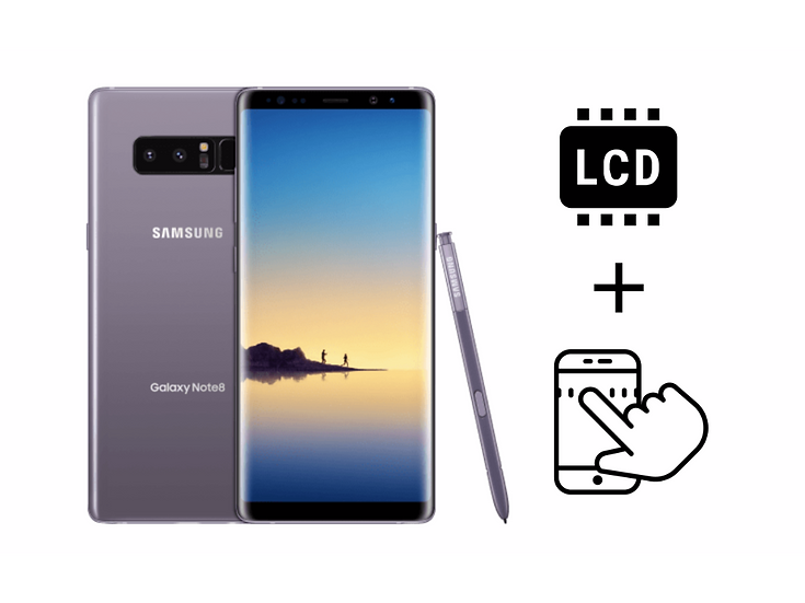 Samsung Galaxy Note 8 LCD Assembly