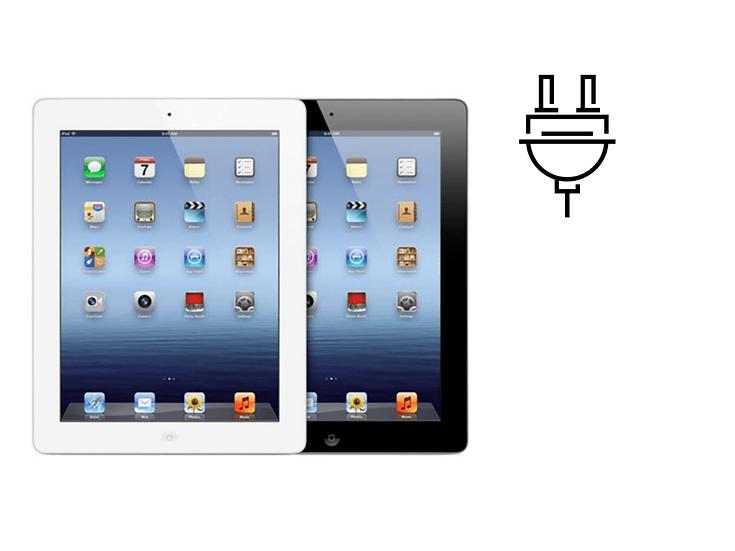 iPad 3 Charge Port