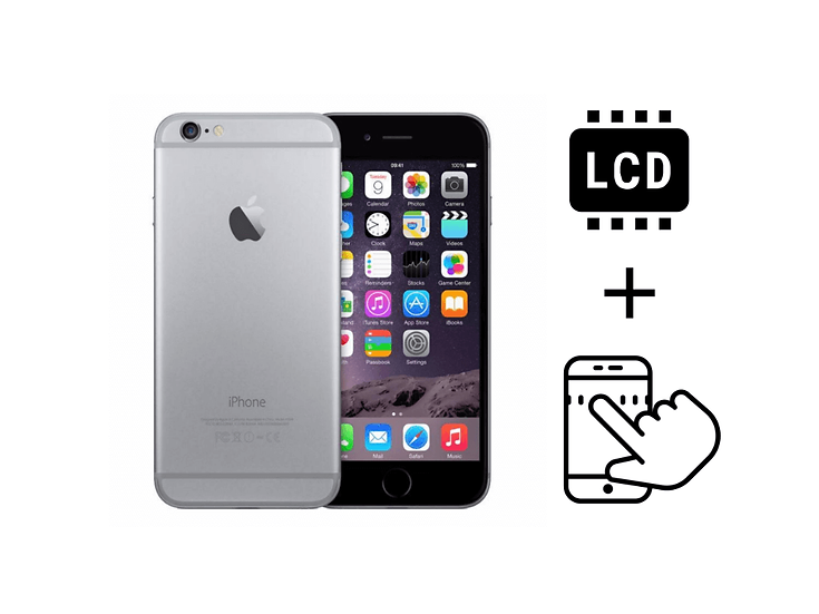 iPhone 6 Glass Touchscreen & LCD