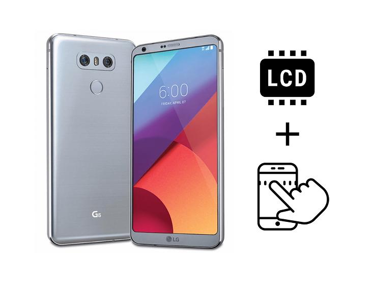 LG G6 Glass Digitizer & LCD Repair