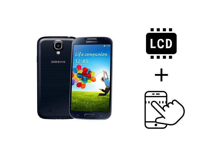 Samsung Galaxy S4 Glass Touchscreen & LCD Repair