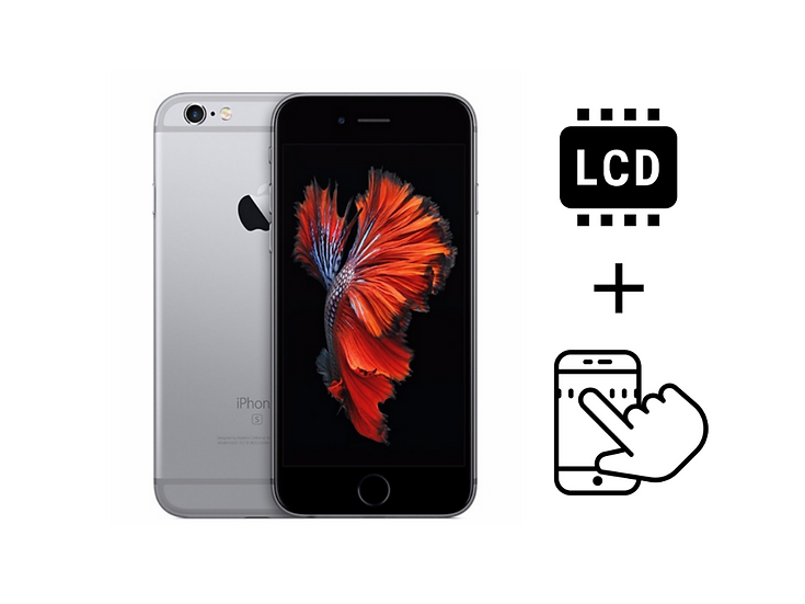 iPhone 6S+ Glass Touchscreen & LCD