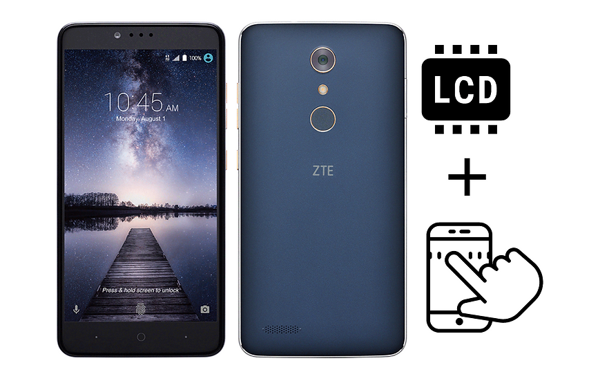 ZTE Z Max Pro Glass Digitizer & LCD