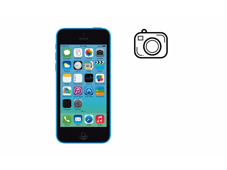 iPhone 5C Front Facing Camera