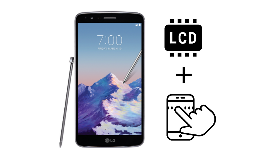 LG Stylo 3 Glass Digitizer & LCD