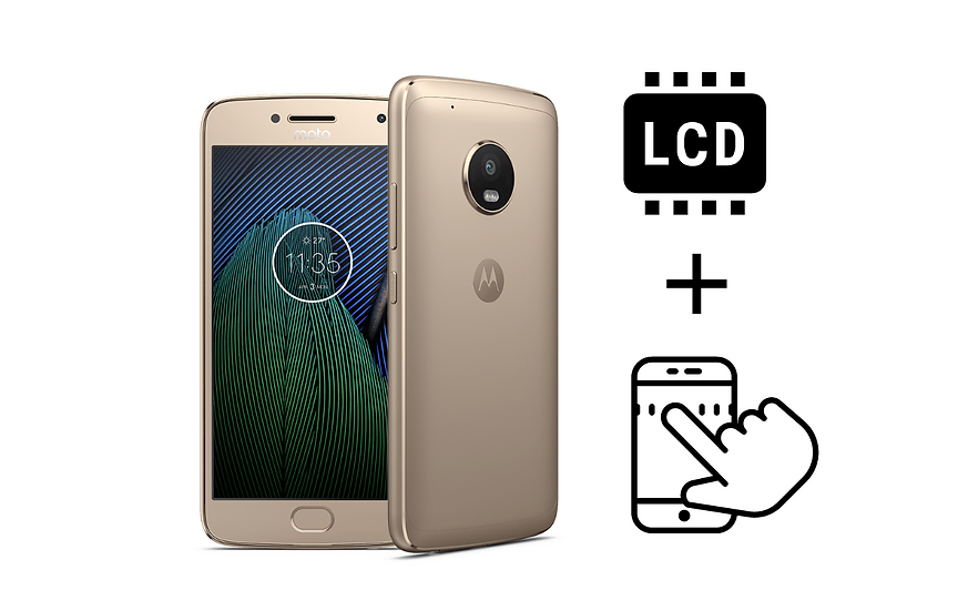 Moto G5 Plus Glass Digitizer & LCD