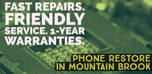 Mountain Brook / Cahaba Heights Phone Restore