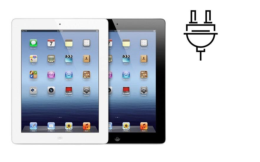 iPad 4 Charge Port