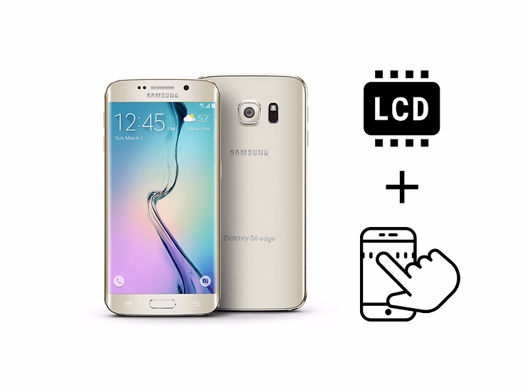 Samsung Galaxy S6 Edge LCD Assembly