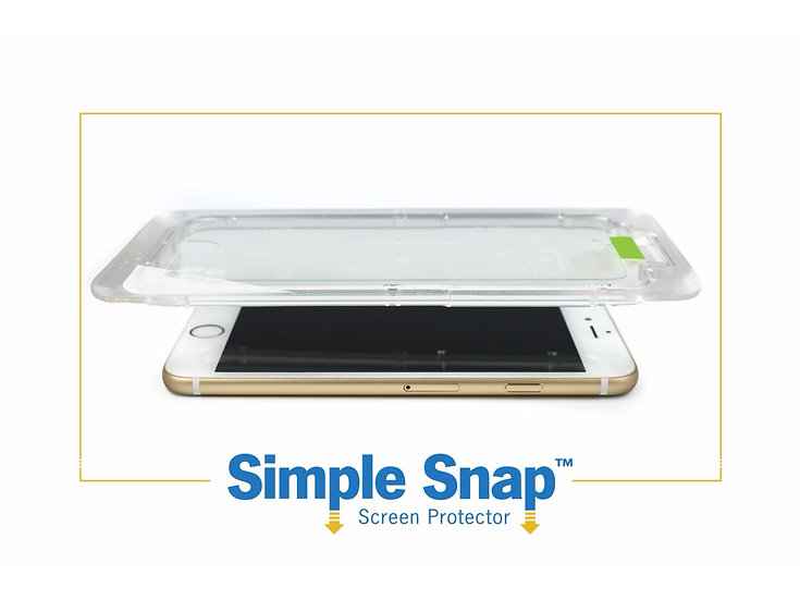 Simple Snap Screen Protector for Smartphone