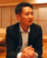 根浜MIND-廣田一樹-インタビューに答える廣田