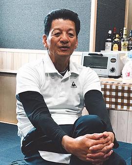 根浜MIND-佐々木雄治-インタビューに答える佐々木