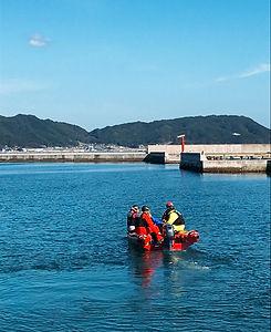 根浜MIND-佐々木雄治-ボートレスキュー写真