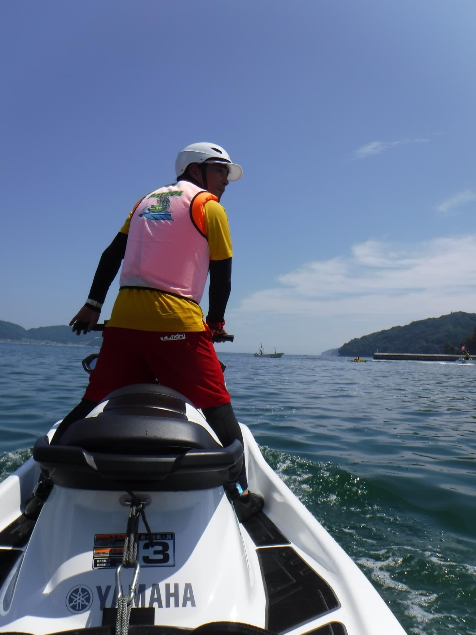 水上バイク 体験乗船