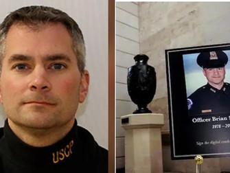 Brian Sicknick: US Capitol riot policeman 'died of natural causes'