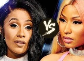 Cardi B OnRumors Of  A Diss Track Against Nicki Minaj