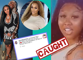 Rah Ali Claims Ari Fletcher Has Been Cheating On BF MoneybaggYo