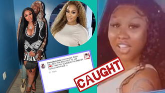 Rah Ali Claims Ari Fletcher Has Been Cheating On BF MoneybaggYo