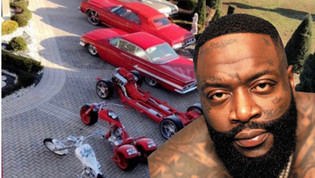 RICK ROSS OPENS UP ON NOT HAVING A DRIVER'S LICENSE DESPITE HEAVY CAR COLLECTION