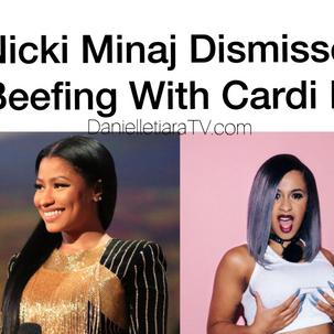 Nicki Minaj Dismiss Rumors of Throwing Shade Towards Cardi B