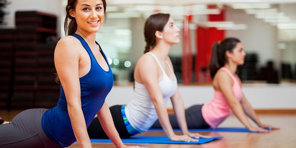 Spacious Heart Vinyasa Yoga with Zoom option