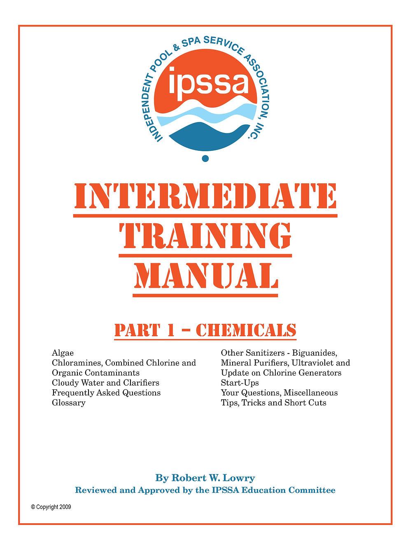 Intermediate Training Manual Part 1 Water Chem Ipssa