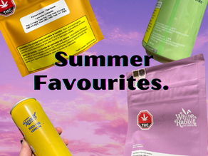 Summer 2021 Recreational Cannabis products!