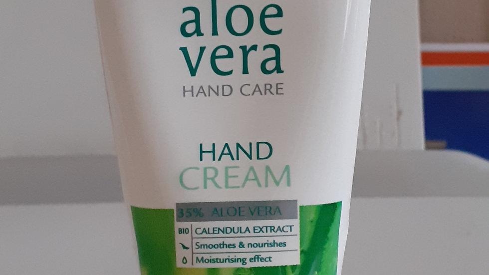 Crème main à l aloès vera.