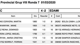 RONDA 7: Gramenet 'C'  4 - 2 EDAMI