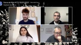 Club Escacs Gramenet a Xarxa de Mat programa de ràdio de 7deràdio Barcelona