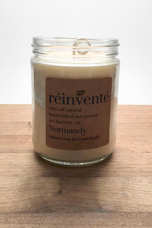 16oz. - Normandy - Hand Poured Soy Candle