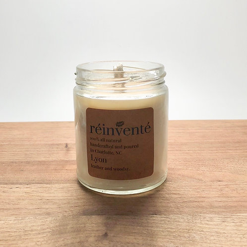 9oz. - Lyon - Hand Poured Soy Candle