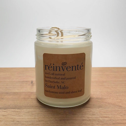 9oz. - Saint Malo - Hand Poured Soy Candle