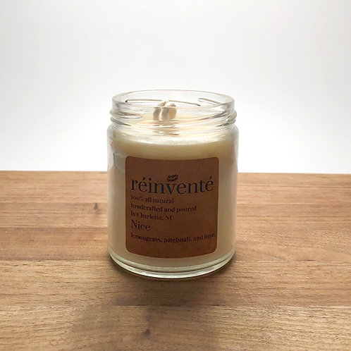9oz. - Nice - Hand Poured Soy Candle