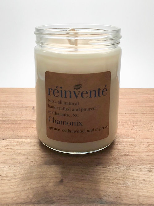 16oz. - Chamonix - Blue Spruce - Hand-Poured Soy Candle