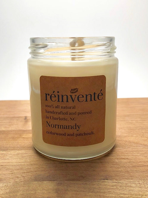 9oz. - Normandy - Hand Poured Soy Candle