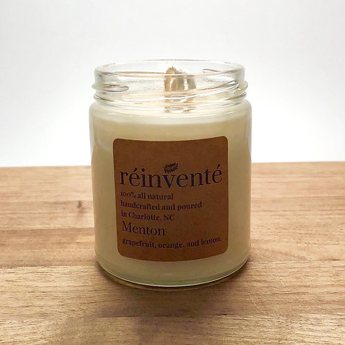 9oz. - Menton - Hand-Poured Soy Candle