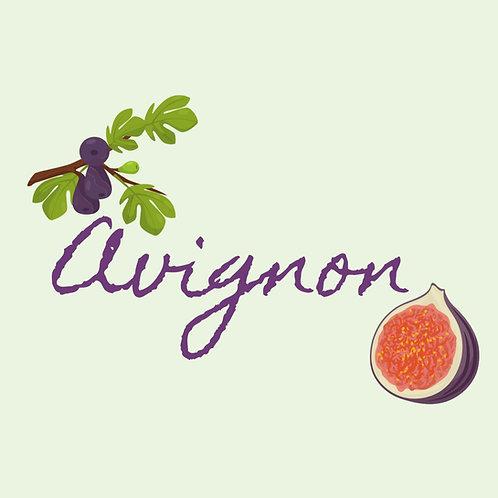 9oz.- AVIGNON -Mediterranean Fig