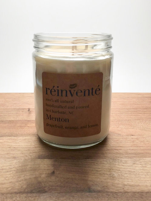 16oz. - Menton - Hand Poured Soy Candle