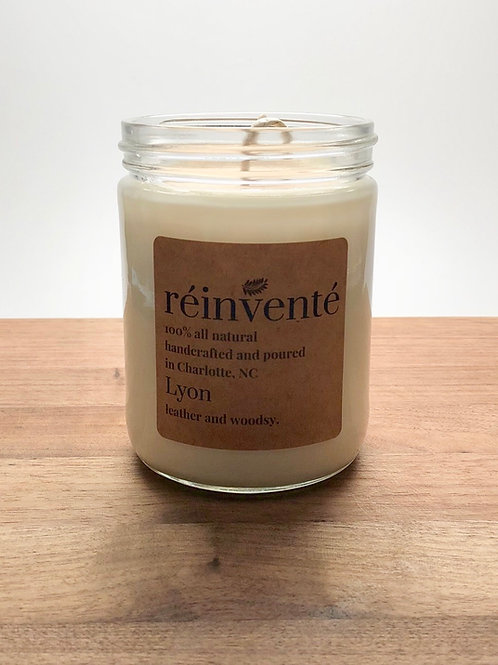 16oz. - Lyon - Hand Poured Soy Candle