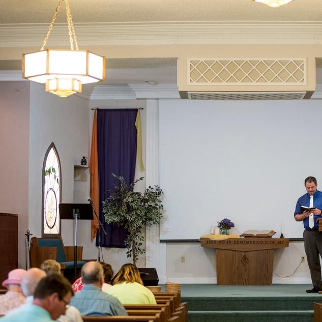 Pastor Ben Schlegel