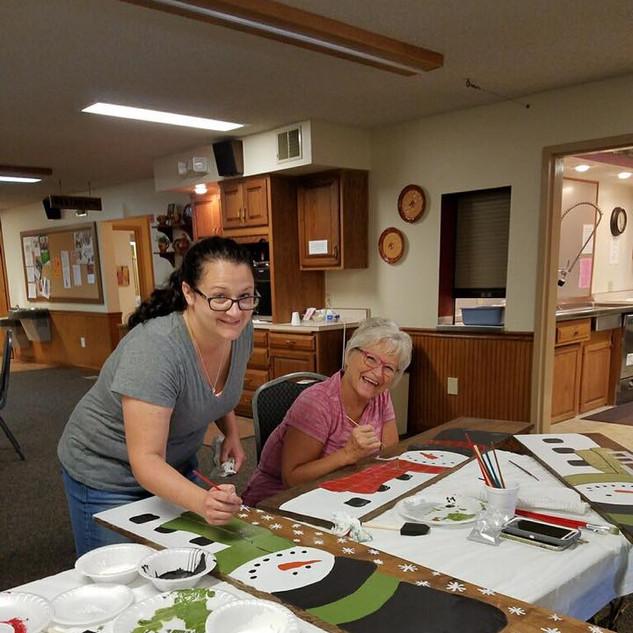 Women's Council Winter Craft Event