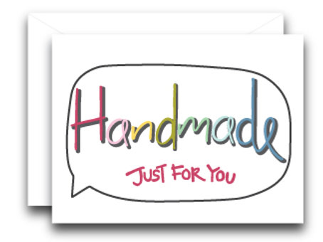 Handmade Just For You - 3PK