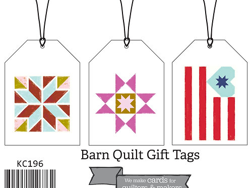 Barn Quilt Gift Tags