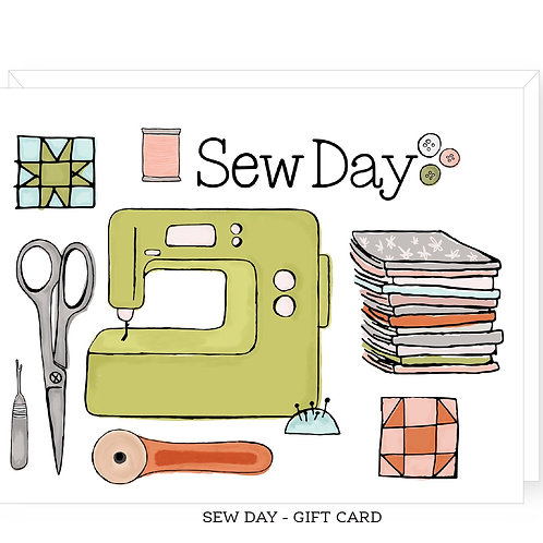 Sew Day - Gift Card